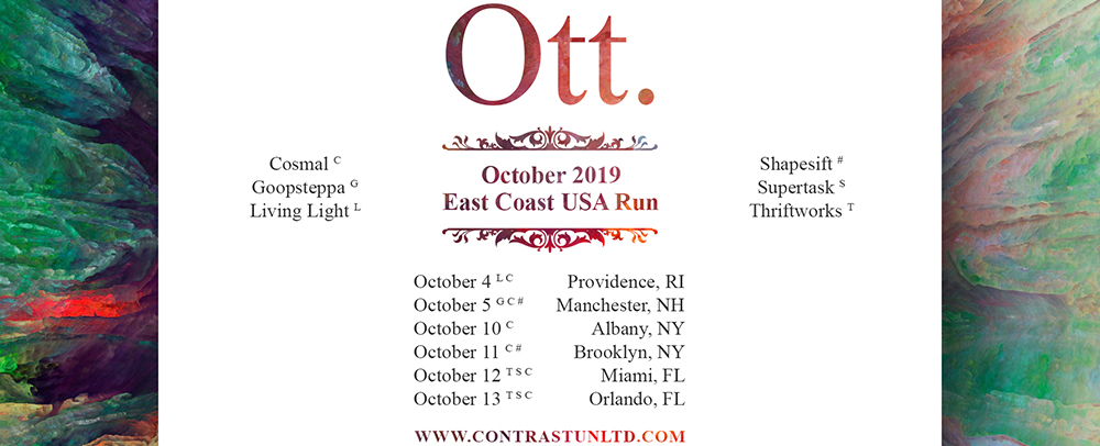 Ott October 2019 East Coast USA Run